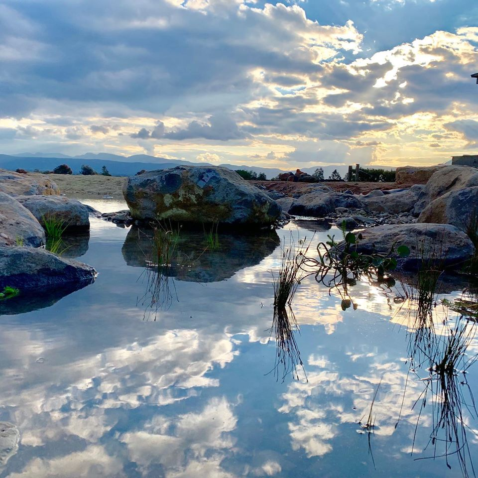 Grampians natural pond