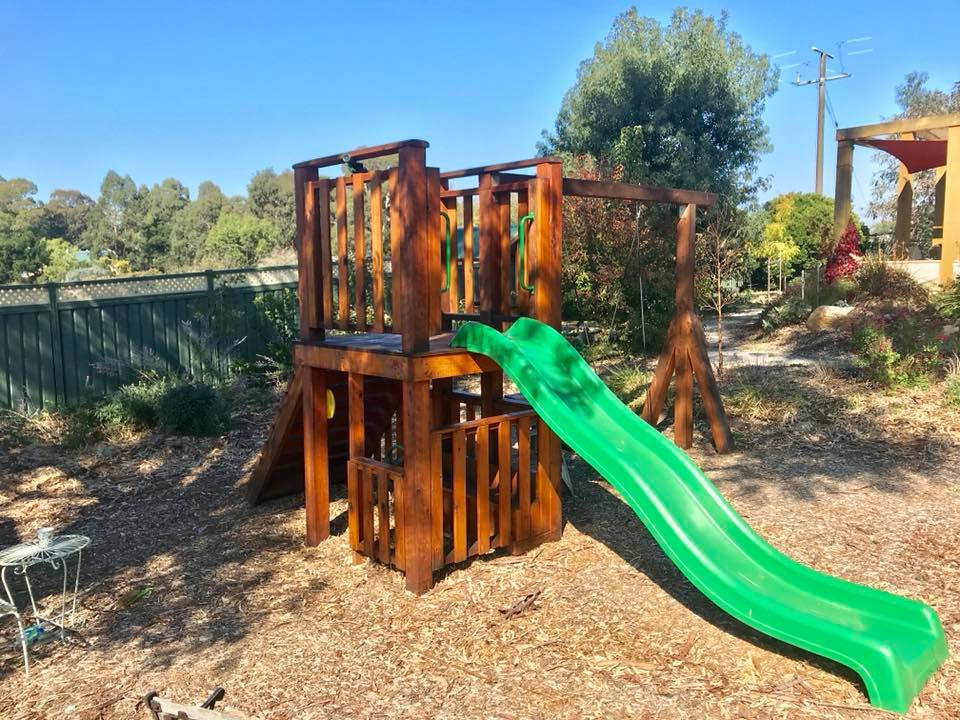 custom timber playground