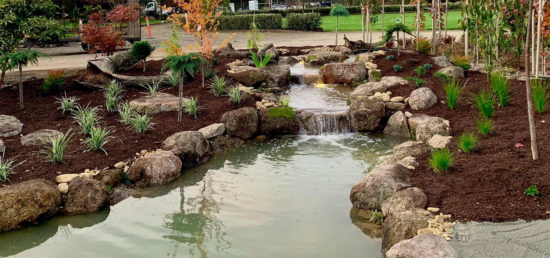 Garden pond 1920