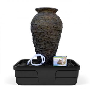 Stacked Slate Urn Kit