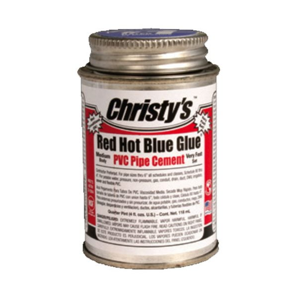 Christys red hot blue glue