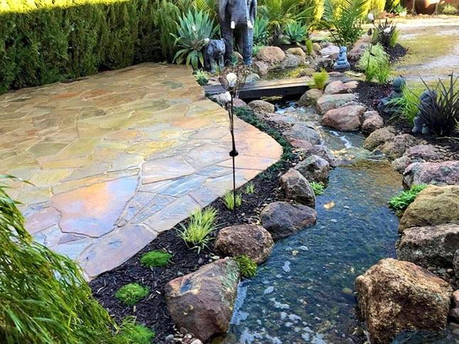 Bendigo Landscape and stream3