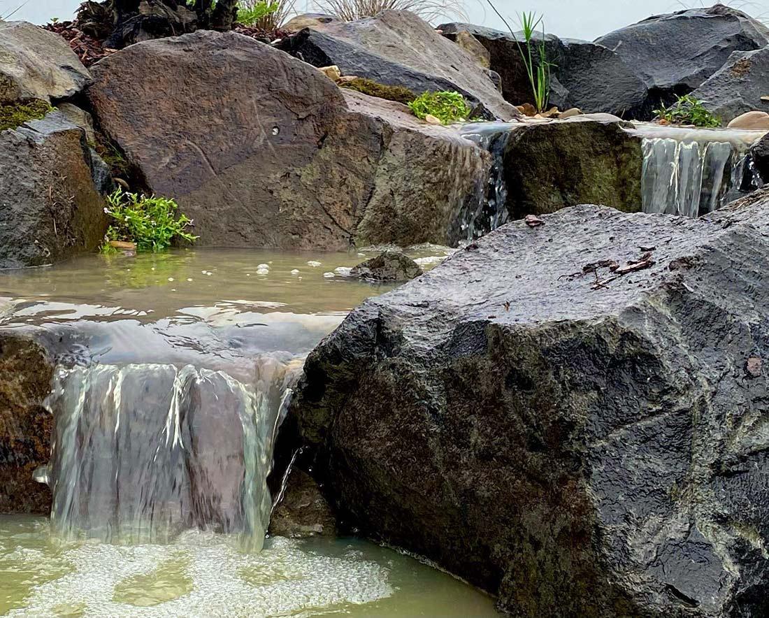 Bluestone Waterfalls
